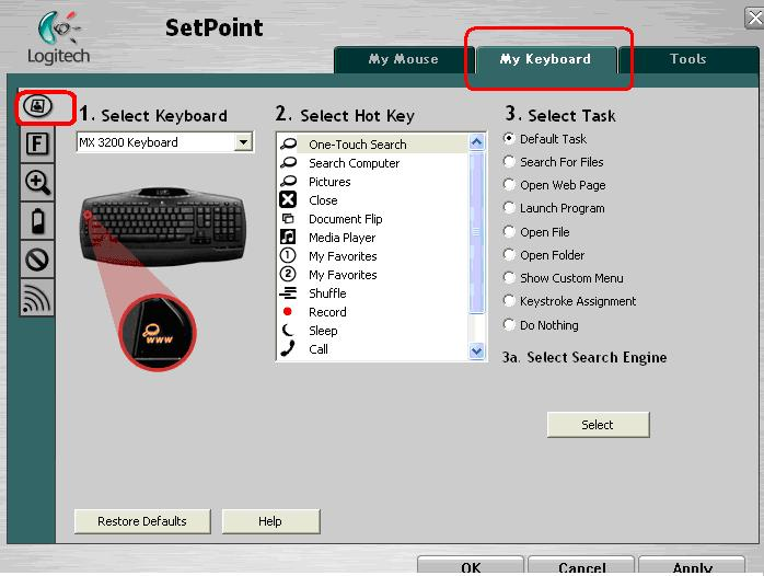 Logitech Setpoint For Windows