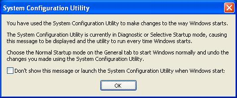 msconfig restart msg 1
