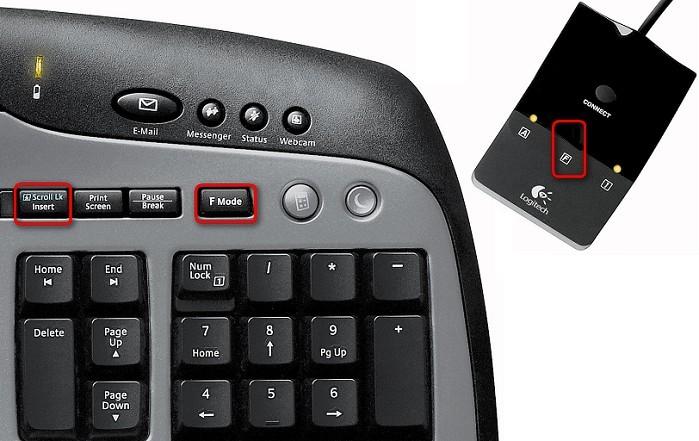 Cordless desktop mx3000