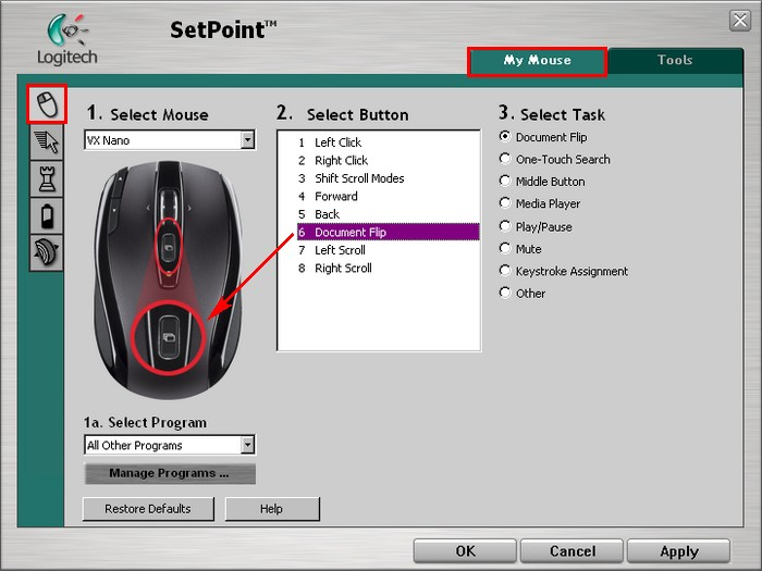 Logitech M-RCJ134 Mouse Connection Drivers Windows