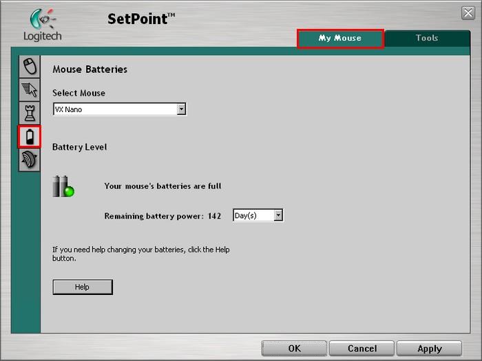 Logitech M-RCJ134 Mouse SetPoint Driver for Windows Download