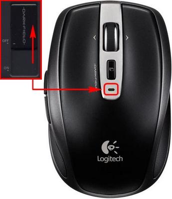 Logitech M-R0001 Anywhere Mouse MX Windows 8