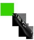 Brilliant green laser pointer