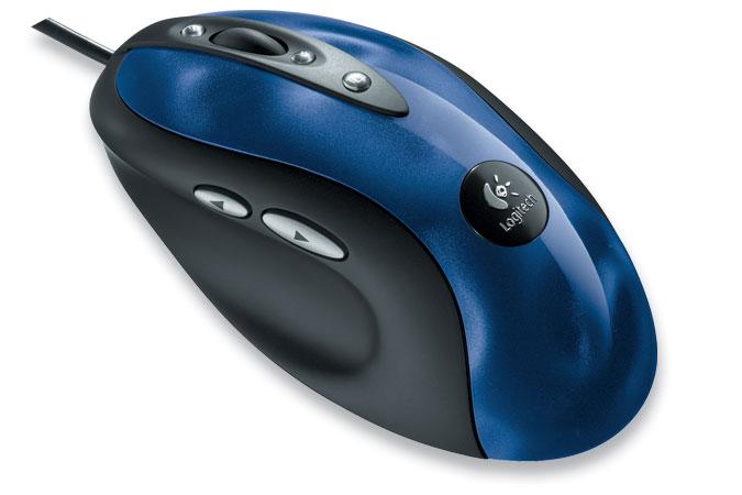 Logitech MX510, in blue