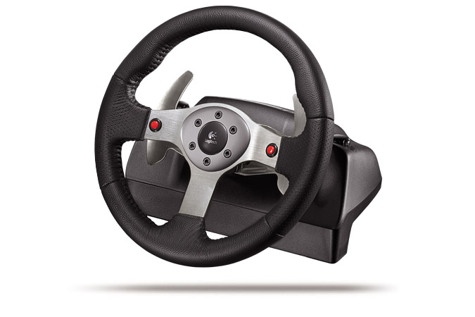 Руль Logitech Formula Vibration Feedback Wheel Драйвер