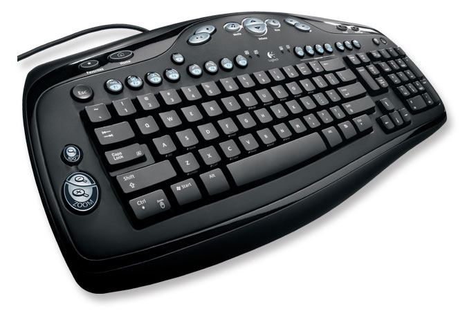 Logitech® Media Keyboard Elite