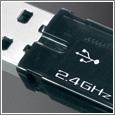 V400 Laser Cordless Mouse